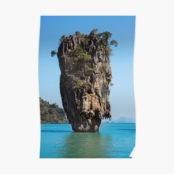 Thaïlande James Bond Island Poster