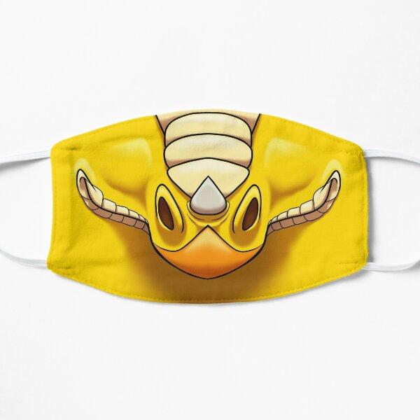 Gelber Drache Flache Maske