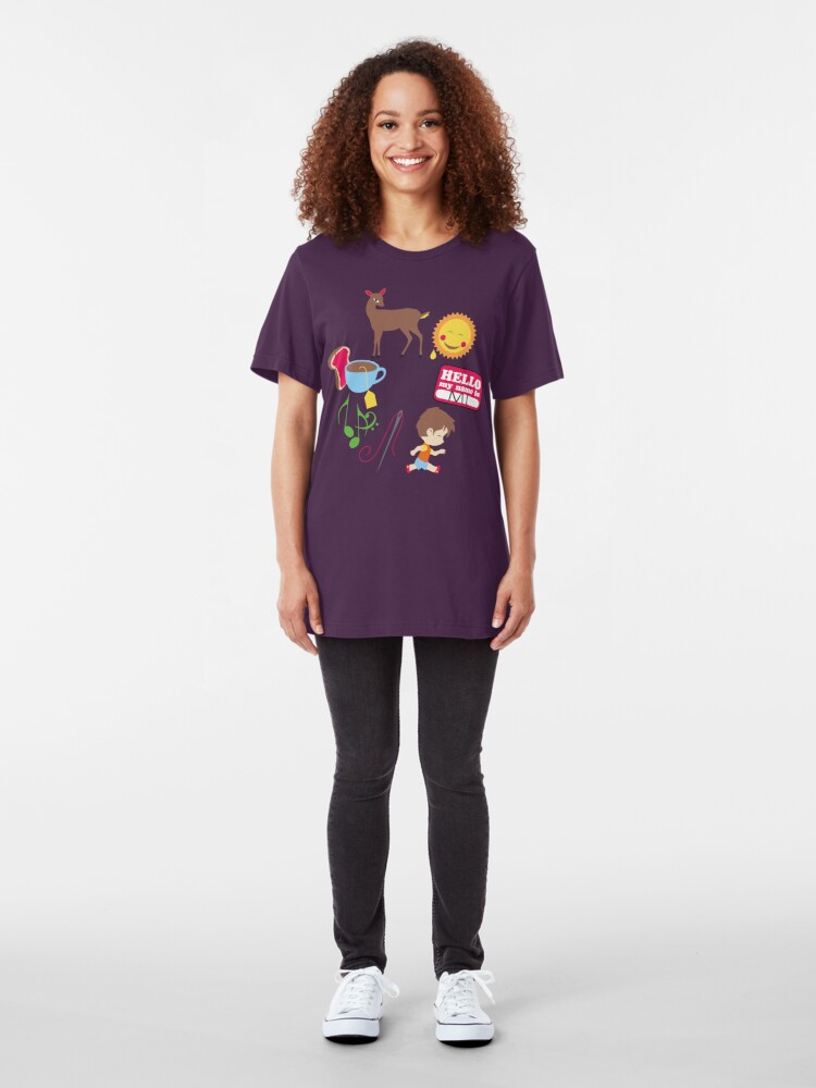 Alternate view of Do Re Mi Slim Fit T-Shirt