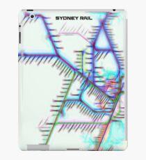 Sydney City Rail Map iPad Case/Skin
