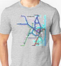 Sydney City Rail Map T-Shirt