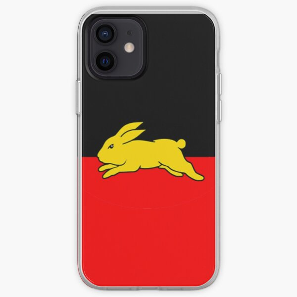 South Sydney Rabbitohs - Aboriginal Flag iPhone Soft Case