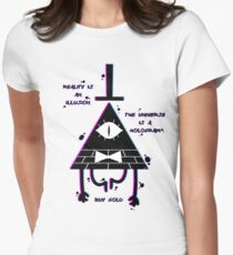 Illusion  Women's Fitted T-Shirt