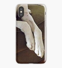 Bubby ~ Relaxing On The Couch iPhone Case/Skin