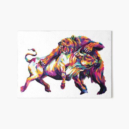 Bulls VS Bears Stock Market Galeriedruck