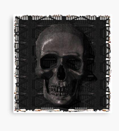 Metal Skull Canvas Print