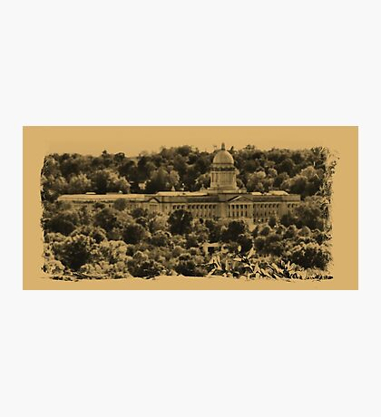 """""""The Kentucky State Capital Building""""... prints and products Photographic Print"""