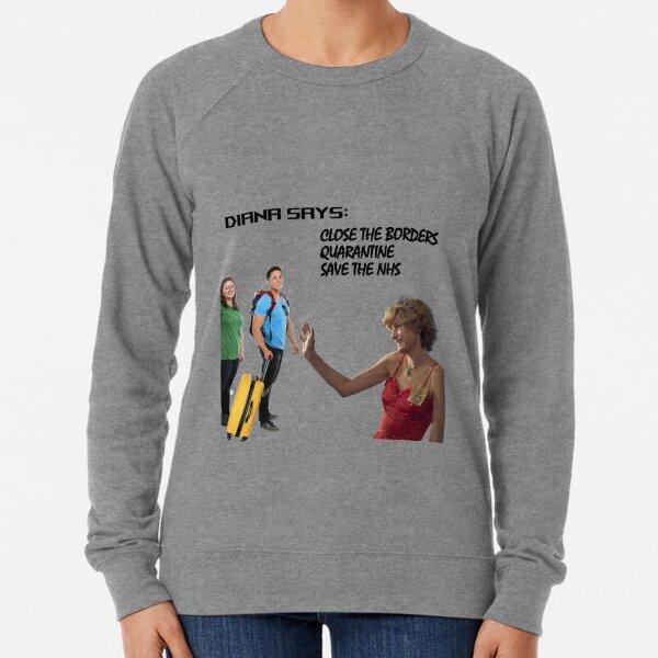 Diana - Princess Quarantine Lightweight Sweatshirt