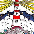 The Stormy Lighthouse by Josie Rouse