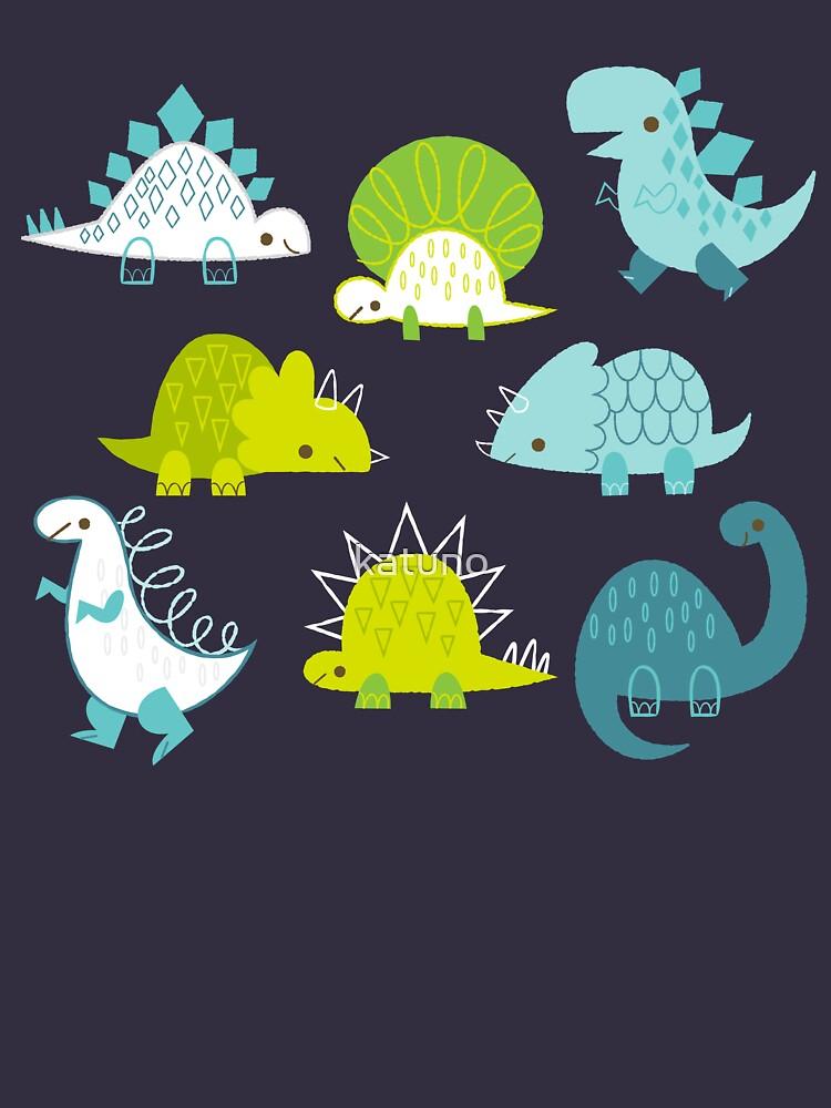 Dinosaurs by katuno