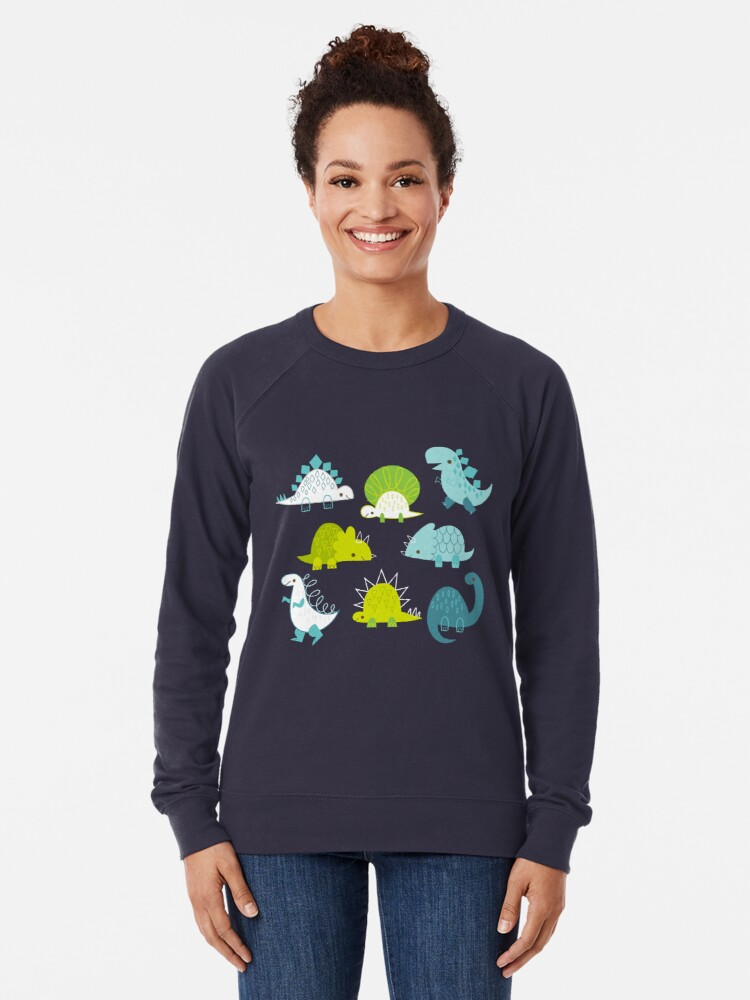 Alternate view of Dinosaurs Lightweight Sweatshirt