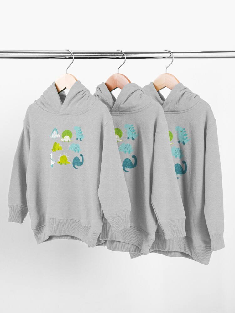 Alternate view of Dinosaurs Toddler Pullover Hoodie