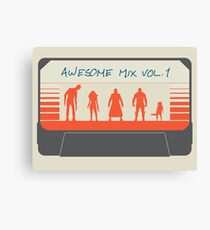 Awesome Mix Canvas Print