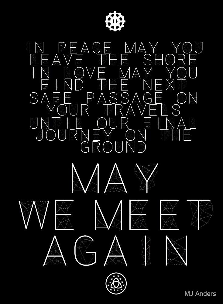 May We Meet Again Constellation by EmJayAnders