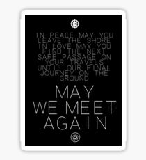 May We Meet Again Constellation Sticker