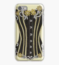 Flower Corset iPhone Case/Skin