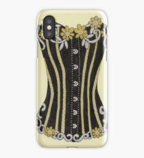Flower Corset iPhone Case/Skin