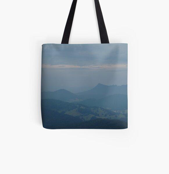 Joe Mortelliti Gallery - Lookout near Marysville, Victoria, Australia. All Over Print Tote Bag