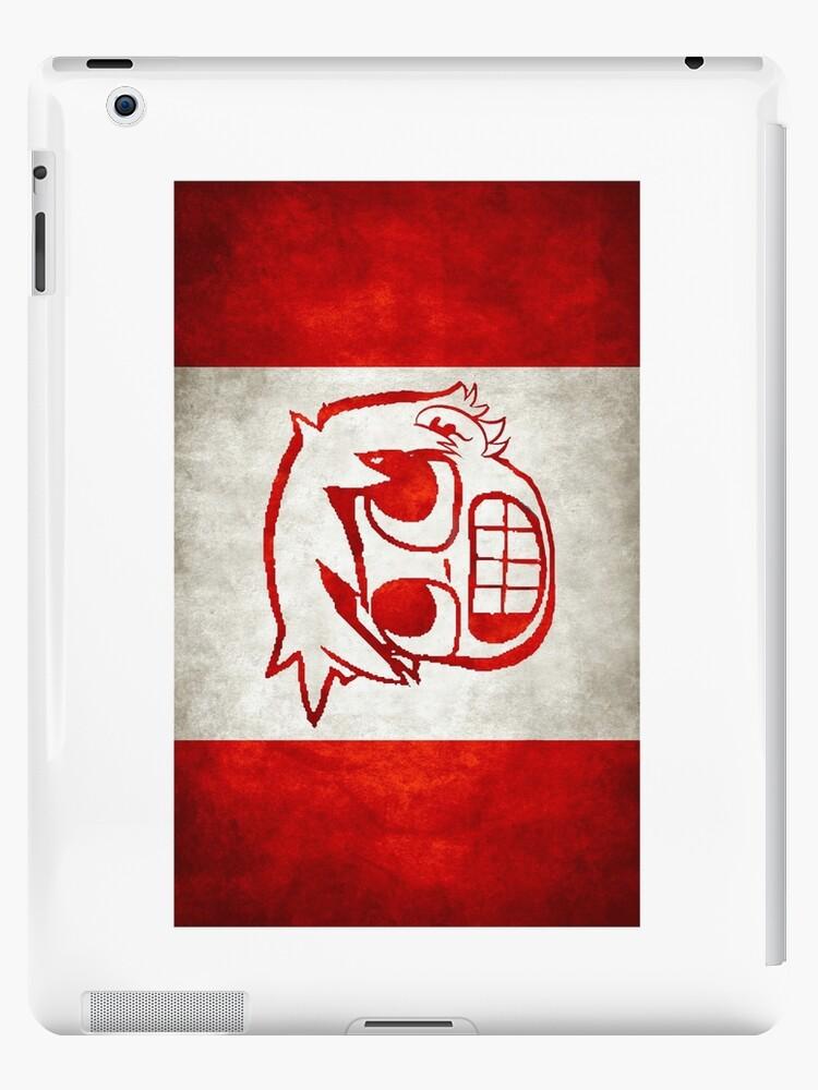 Scott Pilgrim Canada flag edition by rodrigoafp