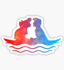 Boat Ride Kiss Sticker