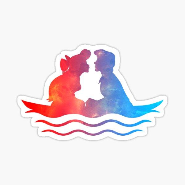 Boat Ride Kiss Sticker