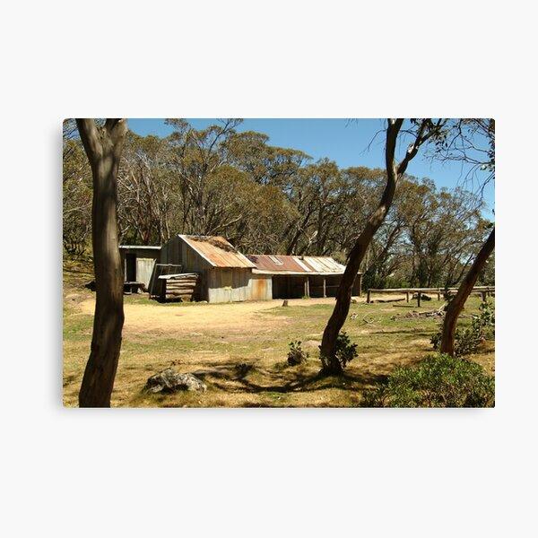 Joe Mortelliti Gallery - Bluff Hut on Mt Stirling, alpine Victoria, Australia.  Canvas Print