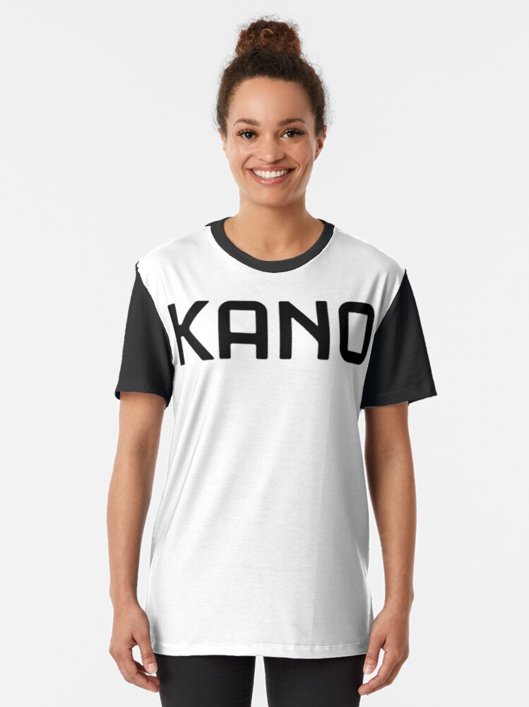 Alternate view of Kano text logo Graphic T-Shirt