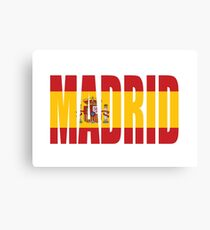Madrid. Canvas Print