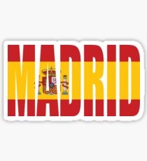 Madrid. Sticker