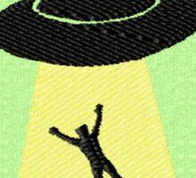 UFOlogist Geek Merit Badge Sticker