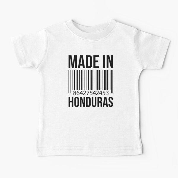Hecho en Honduras Camiseta para bebés