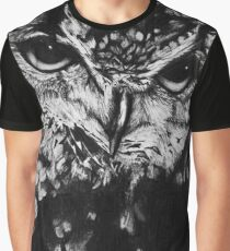 Owl drawing photorealistic Graphic T-Shirt