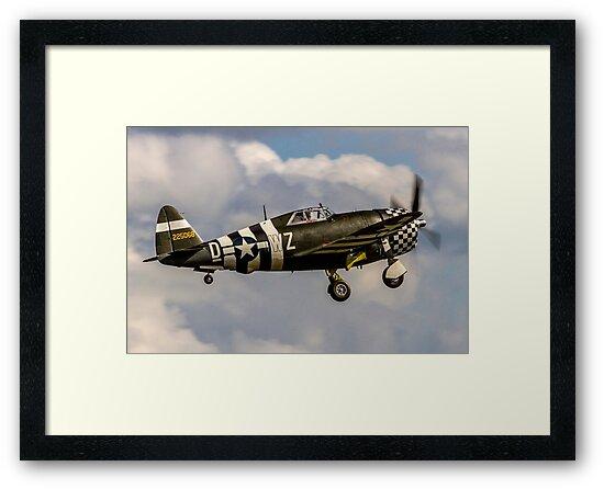 TP-47G Thunderbolt 42-25068/WZ-Ḏ by Colin Smedley