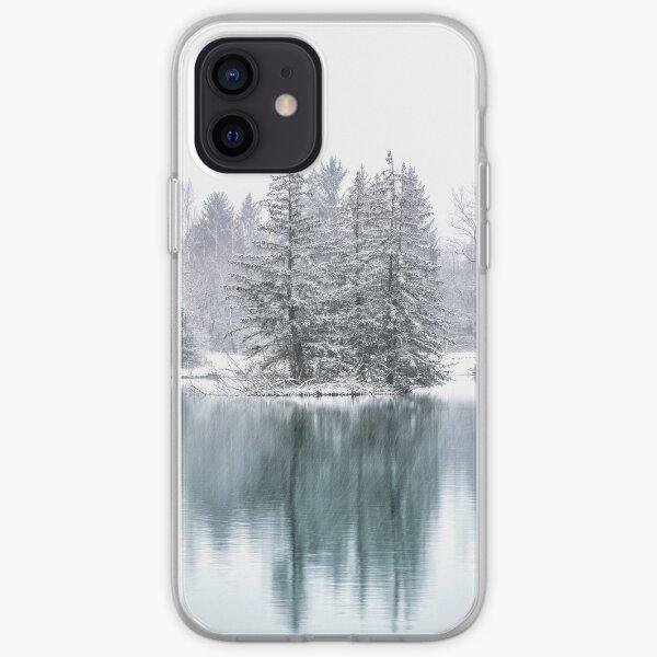 Winterliche Seenlandschaft iPhone Flexible Hülle