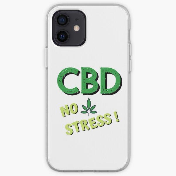 CBD No Stress! iPhone Soft Case