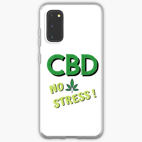 CBD No Stress! Samsung Galaxy Soft Case