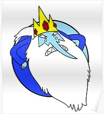 Adventure Time - Ice King Poster