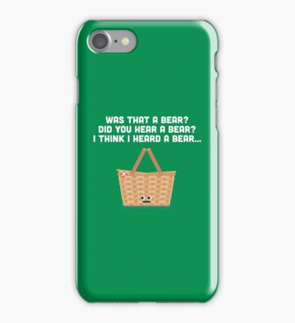 Character Building - Picnic Basket iPhone Case/Skin