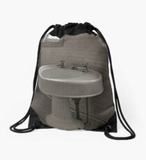 Wash your hands Drawstring Bag