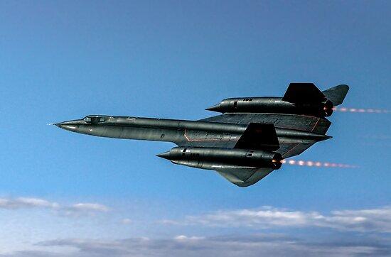 Lockheed SR-71A 64-17973 by Colin Smedley