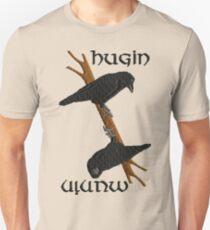 Hugin and Munin Unisex T-Shirt