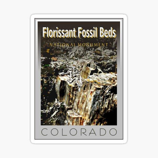 Florissant Fossil Beds National Park Stamp Sticker