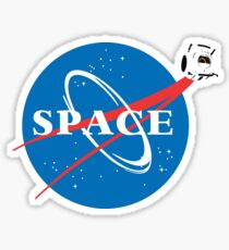 Pegatina Portal Space