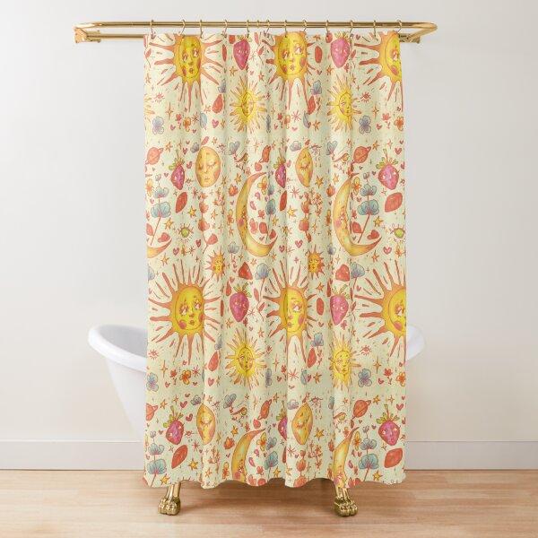 Celestial Spring Shower Curtain