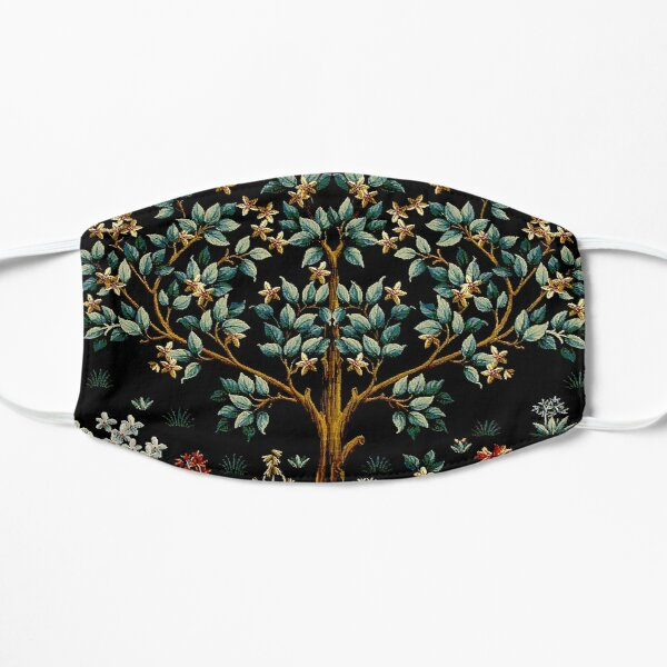 Midnight Floral - The Tree of Life Flat Mask