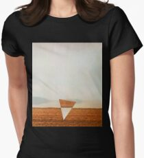 Minimalist collage desert landscape with inverted triangle T-Shirt