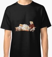 Real Calvin and Hobbes Classic T-Shirt