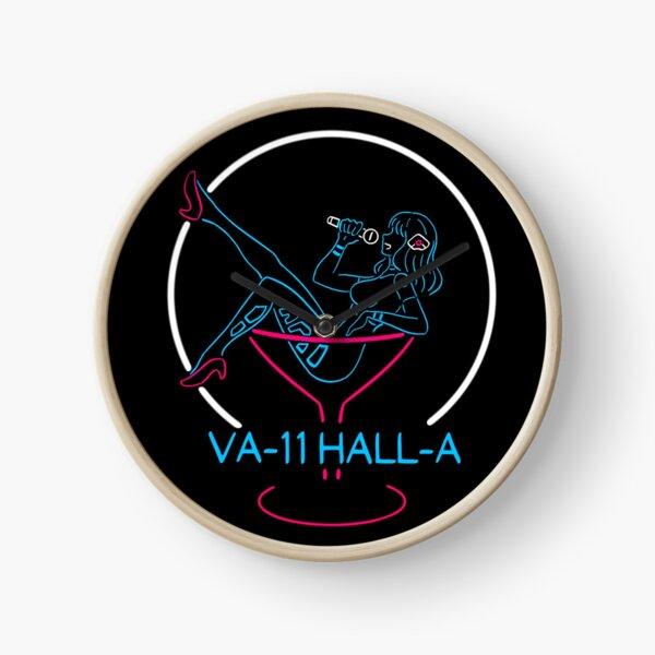 VA-11 Hall-A Neon Sign Clock