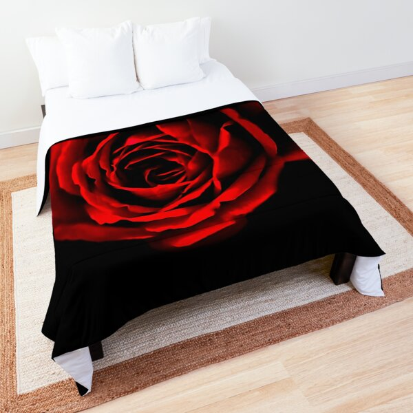 Red Rose Comforter