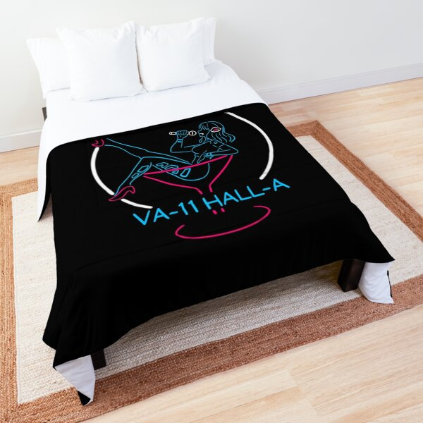 VA-11 Hall-A Neon Sign Comforter